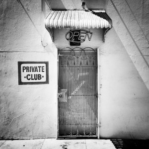 Private members club flicker